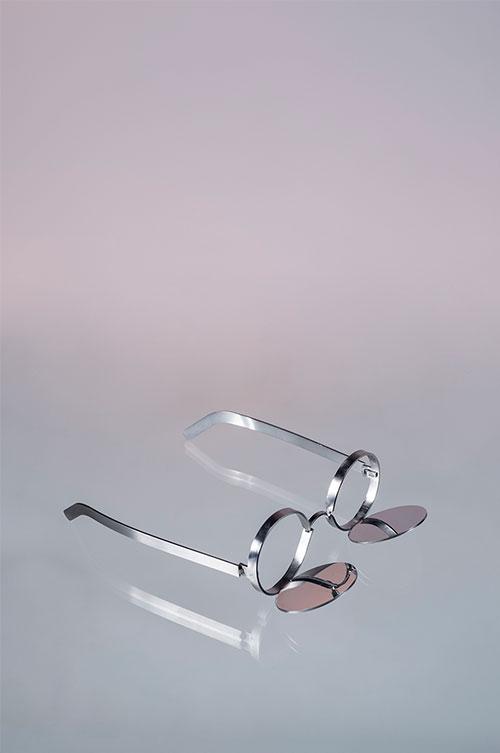 Mirrored Glasses